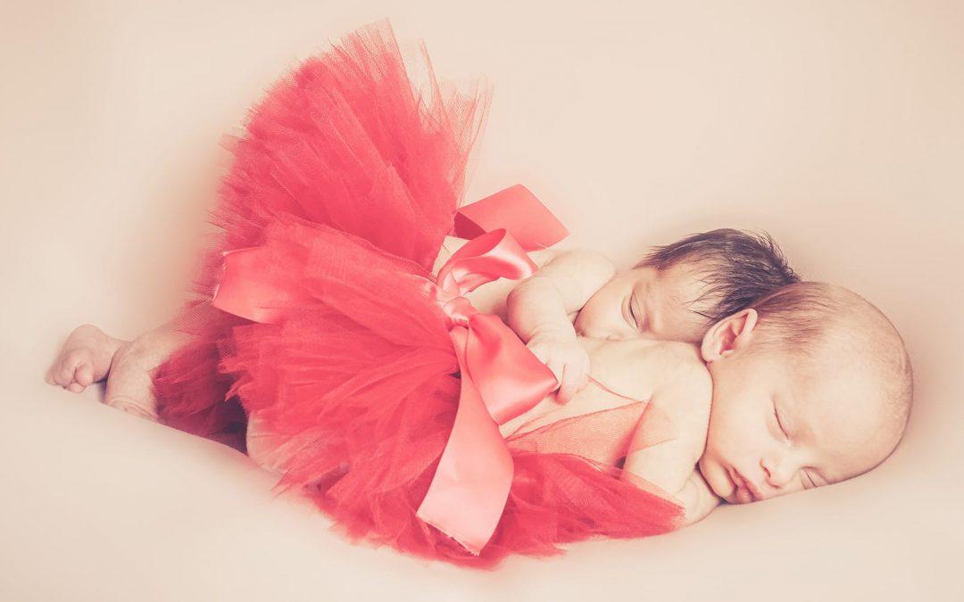 Comment se déroule une séance photo naissance, nouveau né … avec des jumelles !